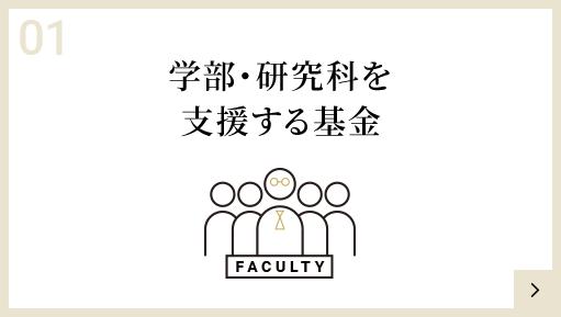 学部・研究科を支援する基金